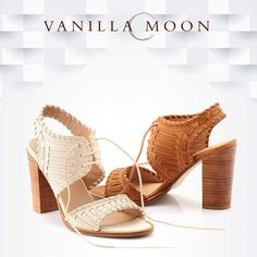 Keep your heels, head and standards high. #VanillaMoon #VanillaMoonShoes #BlockHeels