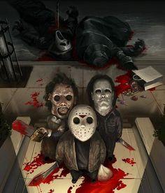 3 Little Murderous Horror Movie Icons - GeekArt - News - GeekTyrant