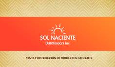 Tarjetas de presentación Sol Naciente, Sabana Seca, Puerto Rico.