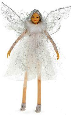 Bendable Petal Fairies Winter Fairy Snow White
