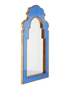 "Horchow | Sapphire Mirror by Bunny Williams | 27"" x 1"" x 54"" 