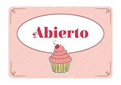Cartel Abierto Pastelería Dessert Quotes, Pastel Candy, School Projects, Sugar Cookies, Sprinkles, Bakery, Shabby, Marketing, Cool Stuff