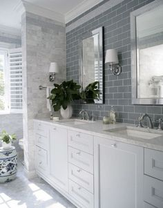White vanity bathroom ideas bathroom with white vanity white vanity bathroom grey subway tile with white vanity bathroom ideas white white bathroom vanity Wood Floor Bathroom, White Vanity Bathroom, Grey Bathrooms, Modern Bathroom, Bathroom Marble, Master Bathroom, Gray Vanity, Aqua Bathroom, Glass Bathroom