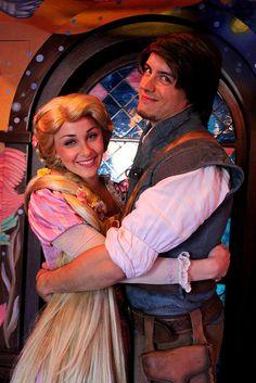 Rapunzel and Flynn Rider on Flickr.