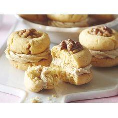 Caramel melting moments recipe. #Biscuit #Snack #Flour