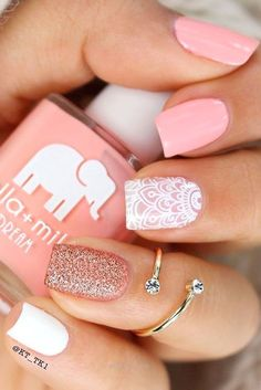 Super cute nails!! #nails #nailart #affiliate