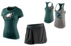 Take advantage of the warm summer weather by working out in style with some #Eagles performance gear