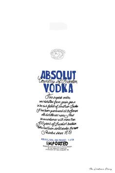 The Lindman Diary: ABSOLUT ART #absolutvodka #absolutart