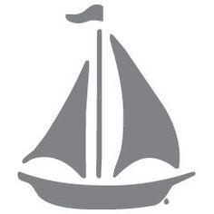 Boat - Zee - Muurstickers - ApplePie Design: