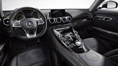 Mercedes-AMG GT S Features 2015 Interior View
