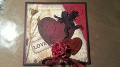 Love card. Handmade by me!