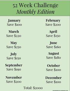 52 Week Saving Challenge Made Easy! – Finance tips, saving money, budgeting planner 52 Week Savings Challenge, Money Saving Challenge, Money Saving Tips, Saving Ideas, Savings Plan, Budget Planner, Ways To Save Money, Money Management, Personal Finance