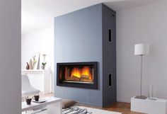 Page non trouvée - Cheminees-philippe Wood Burning Stove Insert, Modern Wood Burning Stoves, Wood Burning Fireplace Inserts, Log Burning Stoves, Open Fireplace, Fireplace Wall, Fireplace Surrounds, Fireplace Design, Electric Fireplace Tv Stand
