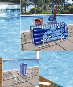 Pool Toy Organizer - Above Ground or Inground Pool