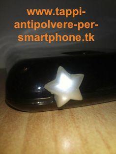 Tappo antipolvere stella Natale ø10mm per jack cuffie 3.5mm smartphone iPhone