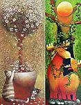 Topiary, Painting, Art, Art Background, Topiaries, Painting Art, Paintings, Kunst, Drawings