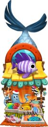 Seaside Business Exotic Fish Market Level 3