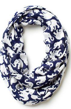 Fun elephant print infinity scarf http://rstyle.me/n/kbk4rnyg6