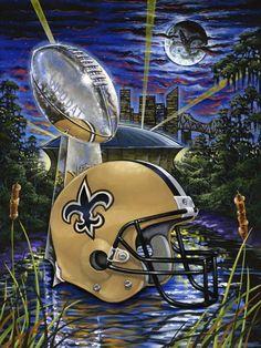 New Orleans Saints SuperBowl Bound In New York City@Met Life Stadium 2014! WhoDat!