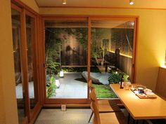 small Japanese garden (out the back room)