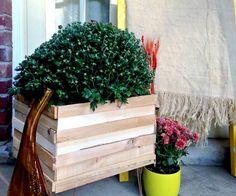 jardinière en bois diy idée tuto facile fabriquer soi meme jardiniere