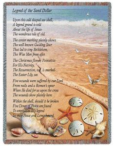 Sand Dollar Doves Poem. Stroll along with your feet in the sand ...