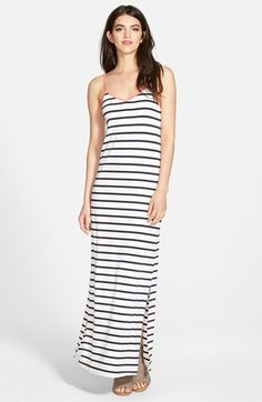 Stem+Strappy+V-Neck+Maxi+Dress+available+at+#Nordstrom