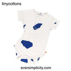 Cut outs SS bodysuit for baby  Shop the #SS17 collection at eversimplicity.com