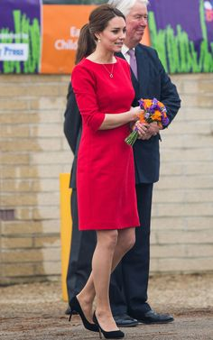 Red dress | Kate