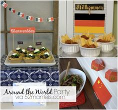 Around the World Party ( 3 Delicious Gluten-Free Recipes!)