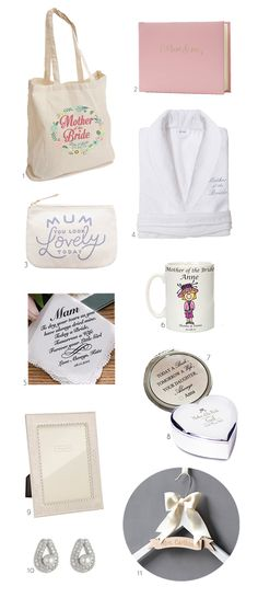 Say thanks to your mum on your Big Day with one of these sweet Mother of the Bride gift ideas...