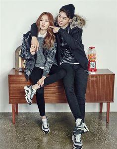 Nam Joo Hyuk and Lee Sung Kyung are sooooo cute! My otp Korean Actresses, Asian Actors, Korean Actors, Swag Couples, Cute Couples, Jong Hyuk, Lee Sung Kyung Nam Joo Hyuk, Nam Joo Hyuk Lee Sung Kyung Wallpaper, Nam Joo Hyuk Cute
