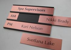 Extravagant Office Door Name Plates Nice Design Interchangeable