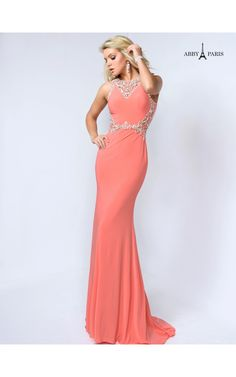 Abby Paris by Lucci Lu 95051 Jacqueline Special Occasion Dresses, Livingston, NJ - Prom Evening Gowns, Cocktail Dresses Evening Dresses, Prom Dresses, Formal Gowns, Special Occasion Dresses, Size 14, Dress Up, Coral, Lucci, Prom Ideas