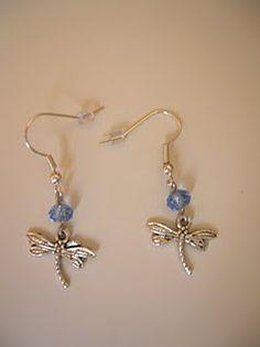 Pendientes libélulas