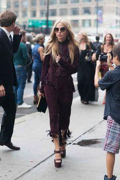 Stylist and designer Rachel Zoe. Photo: Emily Malan/Fashionista