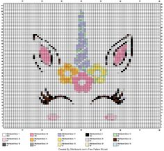 Cross Stitch Horse, Unicorn Cross Stitch Pattern, Mini Cross Stitch, Cross Stitch Charts, Cross Stitch Patterns, Crochet Patterns, Cross Stitching, Cross Stitch Embroidery, Hand Embroidery