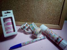 #OsLoEnseño Washi tape (Ale-Hop) Podemos hacer distintas cosas con el washi tape  Aquí tenéis una ¿¿¿¿Como he hecho el boli????????? En !a próxima foto