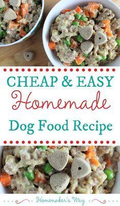 Homemade Dog Food Recipe Turkey And Oat Dog Food Recipes
