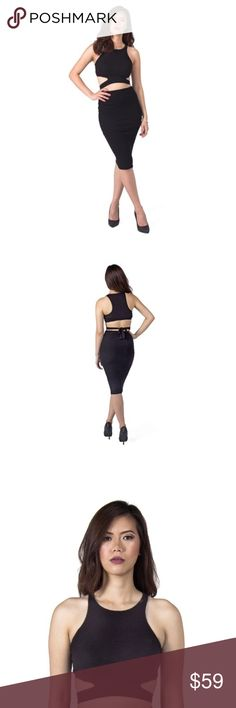 🍾NYE Look: Crop Top & Pencil Combo Atid Clothing crop top and pencil skirt. Perfect NYE outfit and all-year look. Nice blend of cotton and telcel. Atid Clothing Dresses