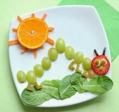The Hungry Caterpillar snack!