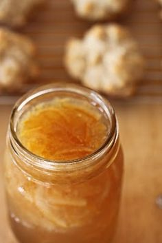 Meyer Lemon Marmalade ~ A sweet addition to homemade biscuits.