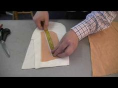 how-to-make-mens-trousers - front slant pockets.