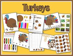 "Check out our new and expanded ""Turkey"" unit!  We've added a few new printables, which you can download.  All my printables are in one easy download. Just click the unit image to download a single zipped file of all the printables. You will need to be able to view pop-ups to download the unit, as it will …"
