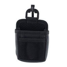 uxcell Vehicle Car Cell Phone Air Vent Gadgets Tools Pocket Pouch Holder Storage Black -- You can find more details by visiting the image link.