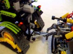 Lego technic John Deere