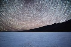 On instagram by joshmerrillphotography #astrophotography #contratahotel (o) http://ift.tt/1ou7cWa Star Trails-  I learned some valuable lessons on this photoshoot. 1. Bad water Basin is a huge place. 2. When you  leave your camera out in the middle of badwater basin in the dark it can be really hard to find your way back to that exact spot. 3. Don't leave your camera out in the middle of a giant salt flat without a GPS marker.  This image is about 200 20-second exposures.  #nightsky…