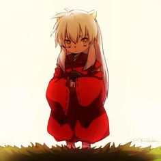 Inuyasha as a baby
