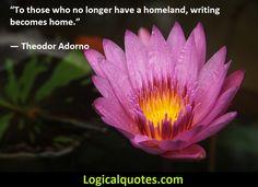 Inspirational Theodor Adorno Quotes