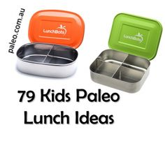 Paleo Diet Primal Kids Childrens School Packed Lunch Ideas Planet LunchBots Bento - another pin where the link doesn't work...